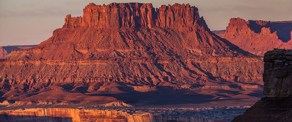 A beautiful butte in Canyonlands