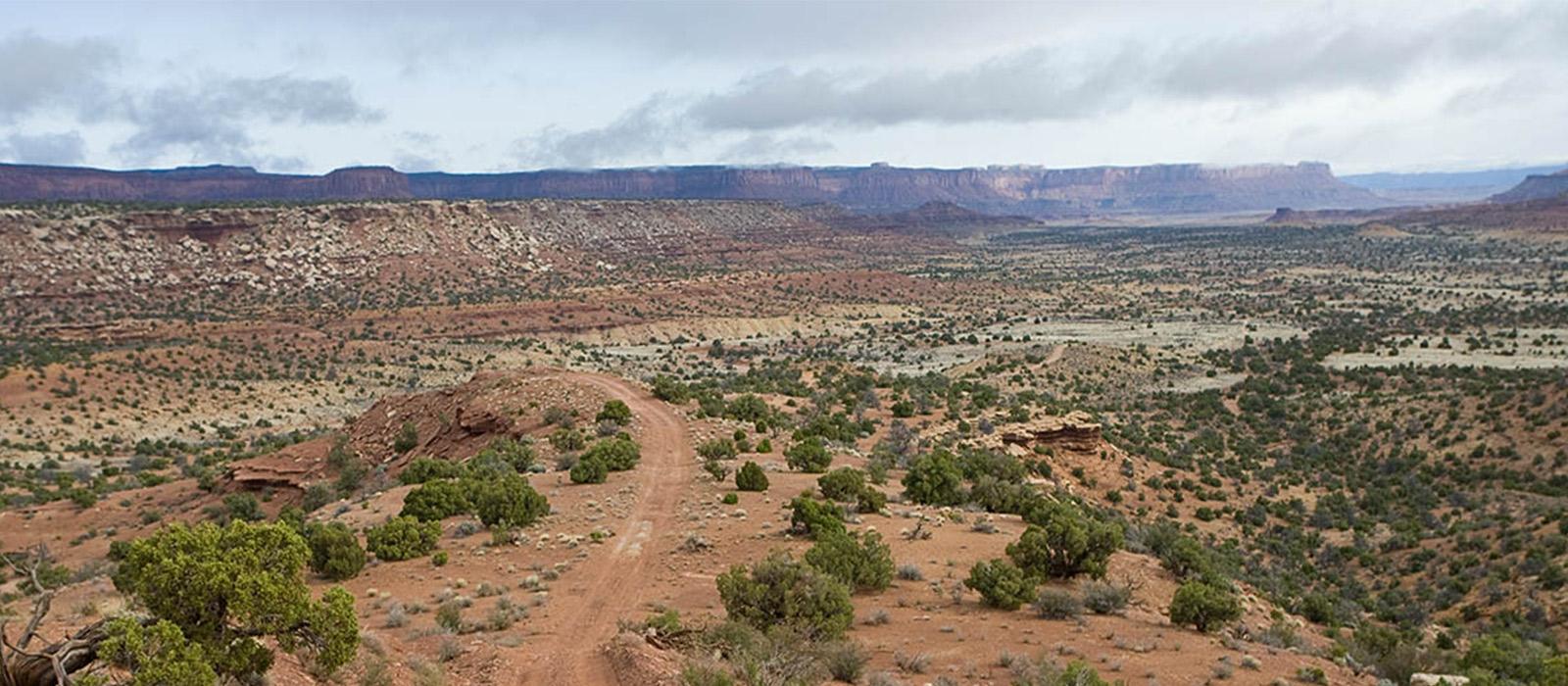 Big desert scenery.